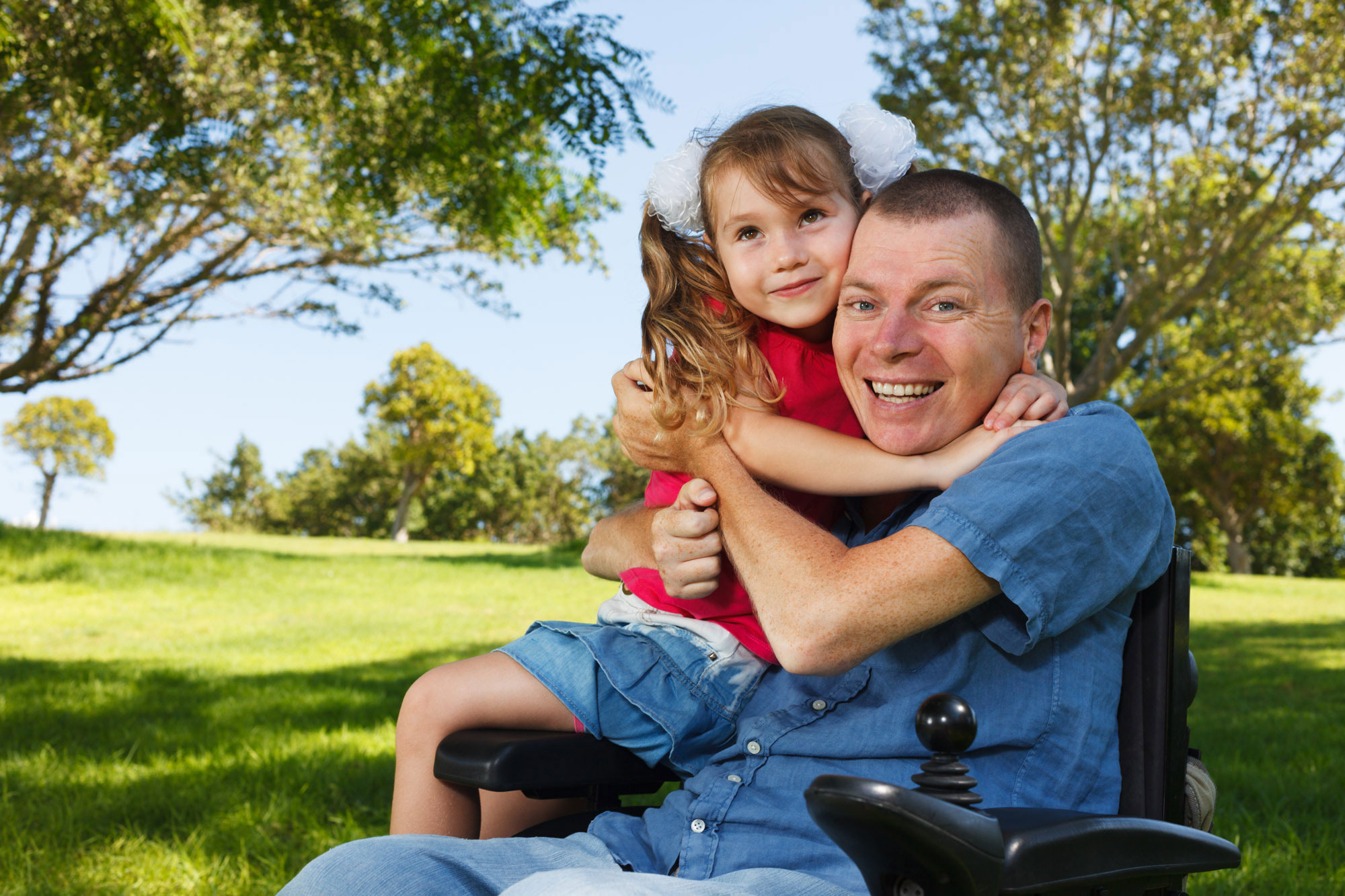 Disabled-Man-with-Daughter-Hug-Colour